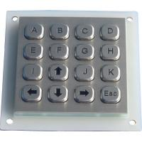 Buy cheap Metal dot matrix keypad product