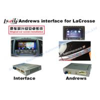 Buy cheap Wifi TV GVIF Interface Car Video Interface For Opel / Buick / Regal / Lacrosse product