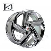 Buy cheap Luxurious Machined Aluminum Wheels 5 Spoke Deep Lip Rims Electroplating Finished product