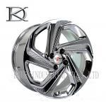 Buy cheap Luxurious Machined Aluminum Wheels 5 Spoke Deep Lip Rims Electroplating Finished product