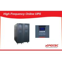 Buy cheap Large Capacity High Frequency Online UPS Power Supply with 12V 9ah Battery , Three Phase product