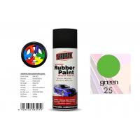 Buy cheap Abrasion ResistanceRemovable Rubber Spray Paint  Head Light Green Color For Car Coating product