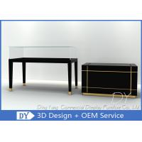 Buy cheap Pre Assembly For Ships Wood Glass Jewelry Store Counter With Lights from wholesalers