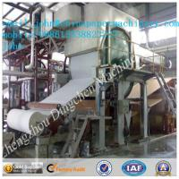Buy cheap 1092mm 2T/D toilet paper making machine with waste paper as material product