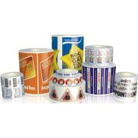 Buy cheap self adhesive label product