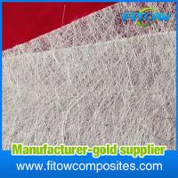 China Alkali resistant glass fibre/e-glass/fiber glass chopped strand mat for boat hull/automobile parts/bathroom fixtures on sale