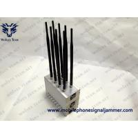 Buy cheap Built-in Cooling Fan Mobile phone Jammer High Power GPS LoJack 3G Cell Phone from wholesalers