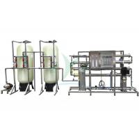 Buy cheap 2TPH RO Water Treatment System Plant For Irrigation / Drinking RO Filter System product