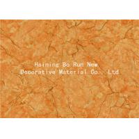 Buy cheap Yellow Pet Heat Transfer Film Hot Stamping Foil For Wall Panel Good Effect product