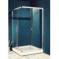 Buy cheap 77 inch 900x900 Square Shower Enclosure , Enclosed Shower Cubicles Top Double Rollers product