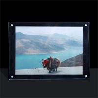 China acrylic photo frame perspex photo frame for Christmas gift on sale