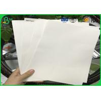 Buy cheap Good Absorbency Uncoated Woodfree Paper / 0.3mm - 3.0mm Absorbent Paper With 100% Wood Pulp product