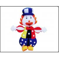 Buy cheap Cute Inflatable Joker Bouncy for Commercial Use Kids Fond Inflatable Bounce Castle product