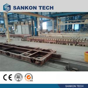 Buy cheap SANKON W600mm Ferry Cart AAC Machine Overturn Table product