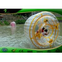 Buy cheap 2.7 Meters Long Durable Water Zorb Ball Inflatable Water Roller Waterproof product