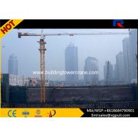 48m Jib Length / Overhead 4ton Topkit Tower Crane / Construction Crane Machine