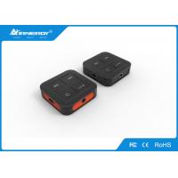 Buy cheap Black Wireless Bluetooth Audio Receiver Transmitter All In One For Audio product