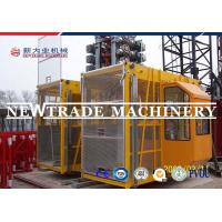 Buy cheap Sc100/100 Elevator Dipping Zinc Construction Hoist Safety , Building Hoist / from wholesalers