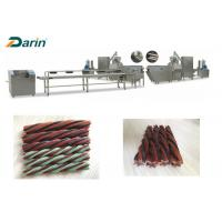 Buy cheap Treats Processing Dog Food Extrusion Machine Chewing Gum Production Line from wholesalers