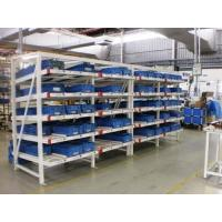 Buy cheap Industrial Rolling Carton Flow Rack Cold Rolled Steel Material High Visibility product