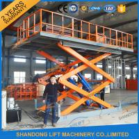 Buy cheap 4.7M 3T Hydraulic Scissor Car Lift , Electric Car Parking Lift CE TUV SGS Home Use product
