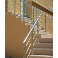 Buy cheap Indoor Aluminum Extrusion profile For Hand Railings Anodized product
