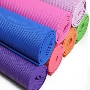 China Recycled Polyurethane Traveling Durable Yoga Mat , Heat Insulation Light Weight Foam Yoga Mat on sale