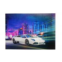 Buy cheap Car Poster  Lenticular 3d Effect Poster PET CMYK Offset Printing product