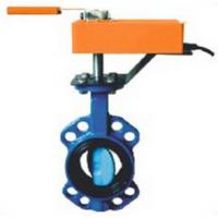 Cheap High Performance Electric Butterfly Valve , Automatic Motorized Actuator Valve wholesale