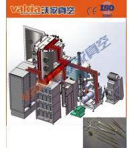 Vacuum Cathodic Arc Coatings , Medical Device PVD Titanium Coating Machine