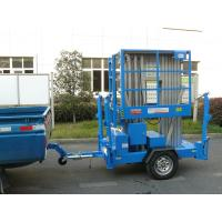 Buy cheap Aluminium Alloy Trailer Mounted Aerial Work Platform product