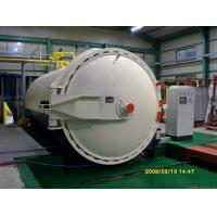 Buy cheap Steam Brick Industrial Autoclave Pressure Φ3m For Glass Deep - Processing product