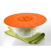 Buy cheap 5Pcs Food Grade Reusable Silicone Food Fresh Cover Suction Lid For Bowls Cups product