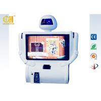 China White Kunfu Robot Arcade Game Machines, Motion Games For Kids on sale