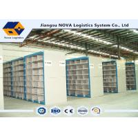 Industrial Steel Middle Duty Pallet Rack Storage Systems Multi Layers High Density