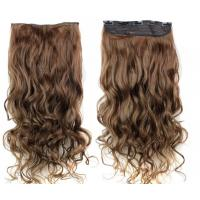 Buy cheap 18 Inch Long Virgin Clip In Hair Extensions / Smooth Virgin Remy Hair Clip Ins from wholesalers