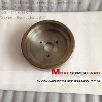 Buy cheap Metal bond diamond/CBN grinding wheel for stone, marble and granite product