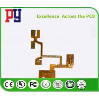 Buy cheap Copper Rigid Printed Circuit Boards , Flexible Pcb Prototype 5mil PET Material from wholesalers