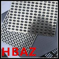 Buy cheap perforated metal plate mesh from wholesalers