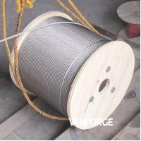Buy cheap 7x19 Construction Stainless Steel Wire Rope Pressure Resistance Extremely Flexible product