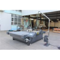 Buy cheap High speed digital flatbed cutter with a particular router and convey belt system product