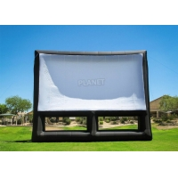 Buy cheap 0.4mm PVC Inflatable Movie Screen Billboard For Advertising product