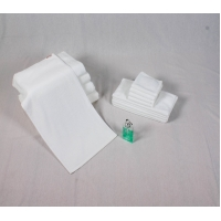 Buy cheap Luxury 21x2'S White Cotton Face Towel product