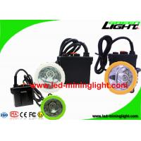 China 50000 Lux Underground Coal Mining Cap Lights , Explosion Proof Miner Caplamp for Mine Tunnel on sale