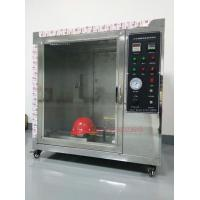 Buy cheap Safety Helmet Flammability Test Chamber For Hard Hat Manufacturers IS0 3873 product