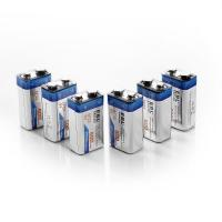 Buy cheap 9V Li-ion Ni-MH Battery Charger with 600mAh Lithium-ion Rechargeable Batteries 2 Packs product