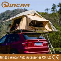 folding Universal Mounting System Roof Top Tent 4x4 for outside Camping