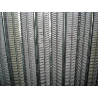 Buy cheap Construction Rib Lath Mesh , 0.3mm Galvanized Expanded Metal Mesh For Rendering product
