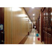 Buy cheap Acoustic Movable Walls Acoustic Sliding Folding Partition Moving product