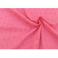 Buy cheap Embroidery 100 Cotton Lace Fabric With Circle Pattern , Cotton Lace Dress Fabric from wholesalers